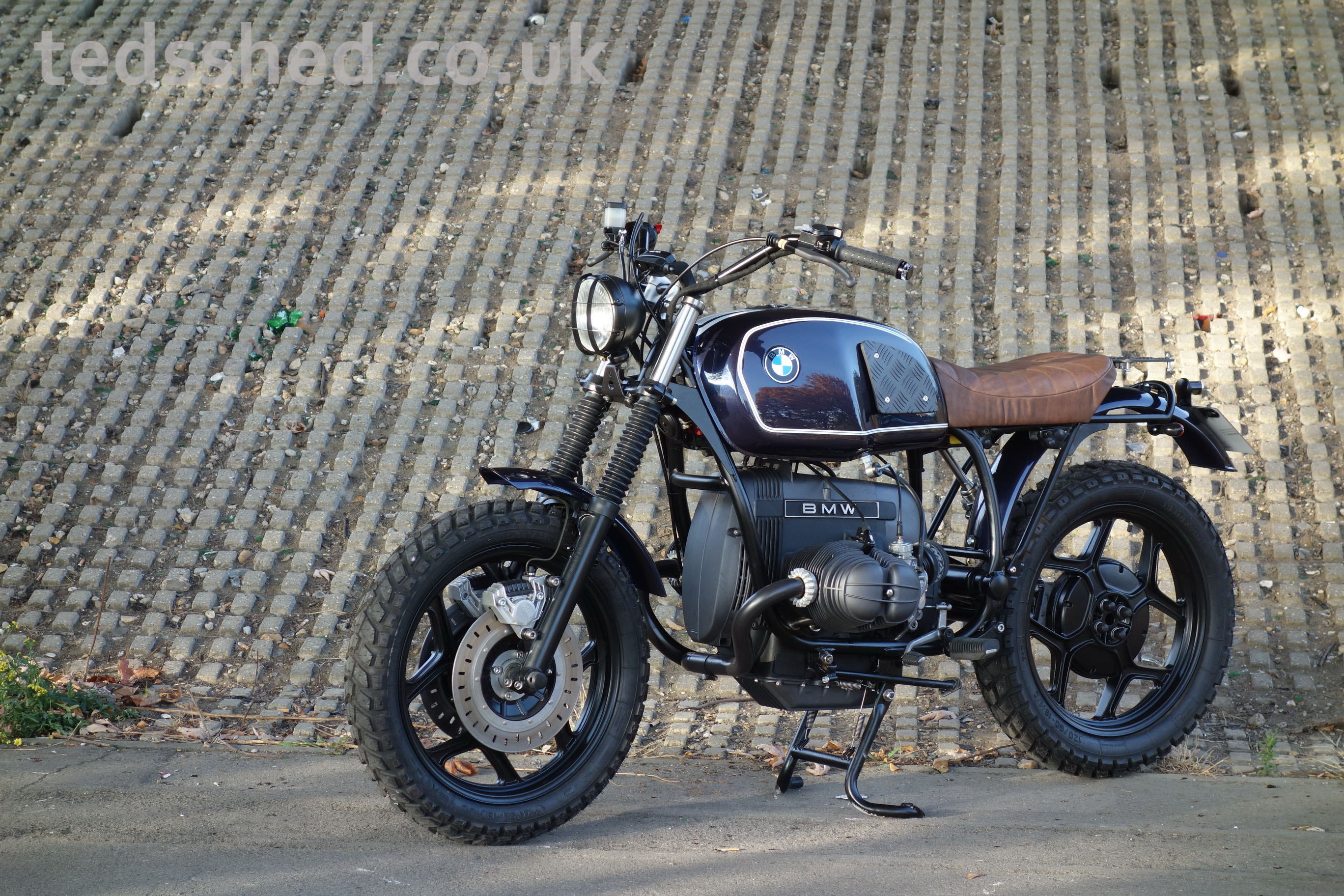BMW R80 Scrambler Project – tedsshed co uk